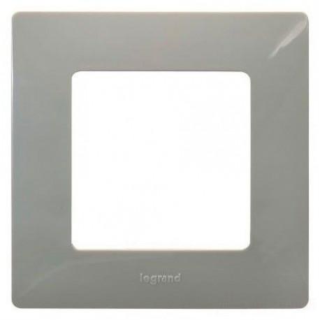 Рамка 1-а, колір світла галька, Legrand Etika