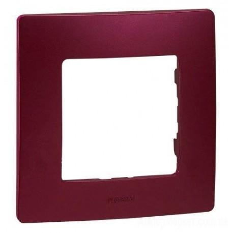 Рамка 1-а, колір сливовий, Legrand Etika