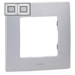 Рамка 2-я, цвет алюминий, Legrand Etika 672552
