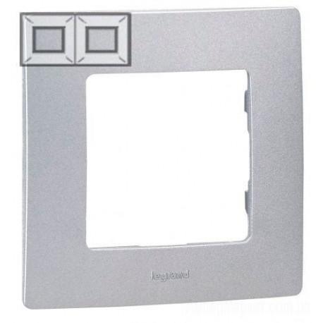 Рамка 2-а, колір алюміній, Legrand Etika