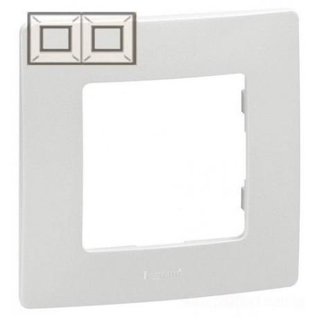 Рамка 2-а, колір білий, Legrand Etika
