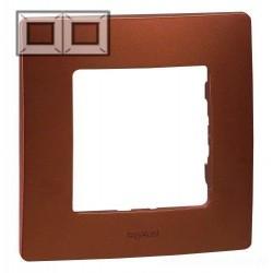 Рамка 2-я, цвет какао, Legrand Etika
