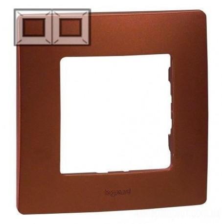 Рамка 2-я, цвет какао, Legrand Etika 672572