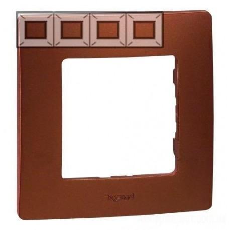 Рамка 4-я, цвет какао, Legrand Etika 672574
