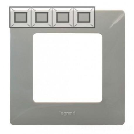 Рамка 4-я, цвет светлая галька, Legrand Etika 672524