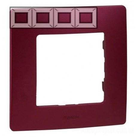 Рамка 4-я, цвет сливовый, Legrand Etika 672564