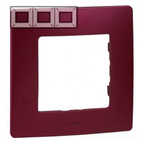 Рамка 3-я, цвет сливовый, Legrand Etika 672563