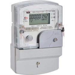 Счетчик электроэнергии однофазный многотарифный НІК 2102-Е2Т