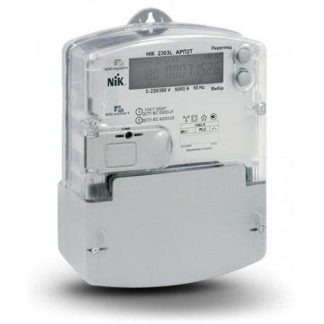 Лічильник електроенергії трифазний багатотарифний НІК 2303 АРП3Т