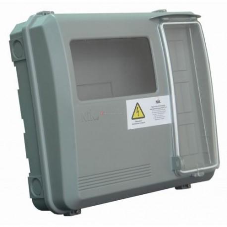 Ящик для 1-3-фазного счетчика DOT3.1В, 9 модулей
