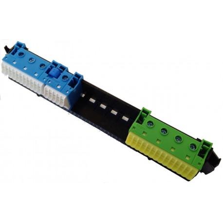 Тримач з клемами PE і N: 16xN + 14xPE / 4xN + 4xPE, VZ462 Hager