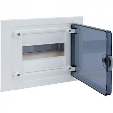 Щит внутрішній Hager Golf VF108TD, 8 модулів прозорі дверцята