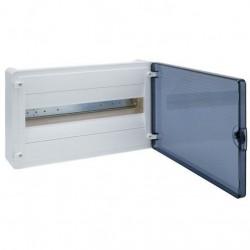 Щит наружной установки Hager Golf VS118TD, 18 модулей с прозрачной дверцей