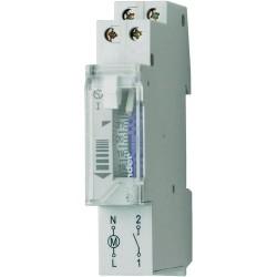 Реле времени суточное, 1NO, 16A, 230В AC, электромеханическое, без резервного ист.питания, модульное, 120182301000 Finder