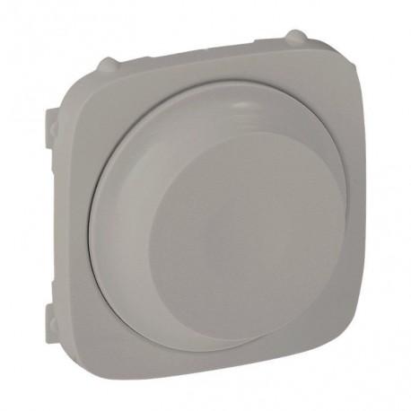 Лицьова панель світлорегулятора поворотного, колір алюміній