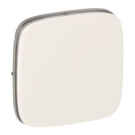 Лицевая панель выключателя 1-клавишного, цвет перламутр, Valena Allure, Legrand 755009