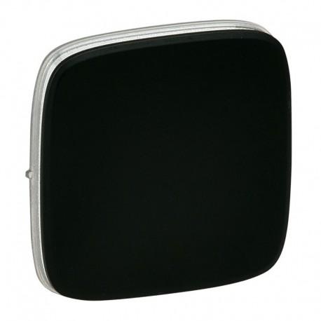 Лицевая панель выключателя 1-клавишного, цвет черный, Valena Allure, Legrand