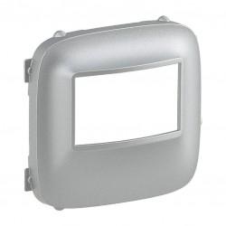 Лицевая панель датчика движения, цвет алюминий, Valena Allure, Legrand