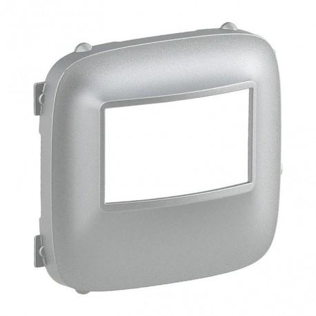 Лицьова панель датчика руху, колір алюміній, Valena Allure