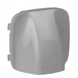 Лицевая панель заглушка-вывод кабеля, цвет алюминий, Valena Allure, Legrand 755057