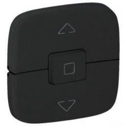 Лицевая панель механизма управления жалюзи, цвет черный, Valena Allure, Legrand 755148