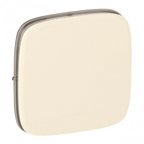 Лицевая панель переключателя промежуточного 1-клавишного, цвет слоновая кость, Valena Allure, Legrand 755076