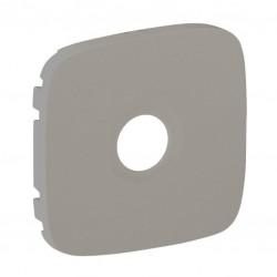 Лицьова панель розетки TV, колір алюміній, Valena Allure