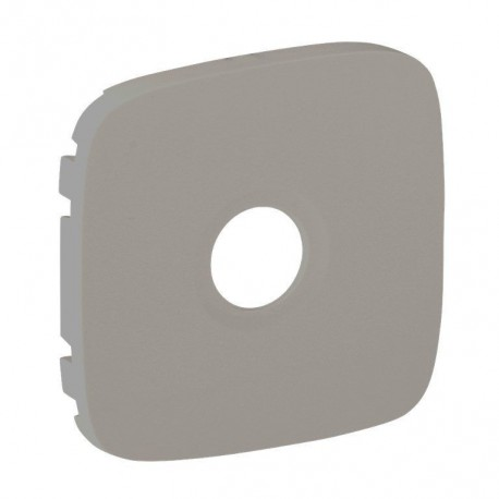 Лицевая панель розетки TV, цвет алюминий, Valena Allure, Legrand 754767