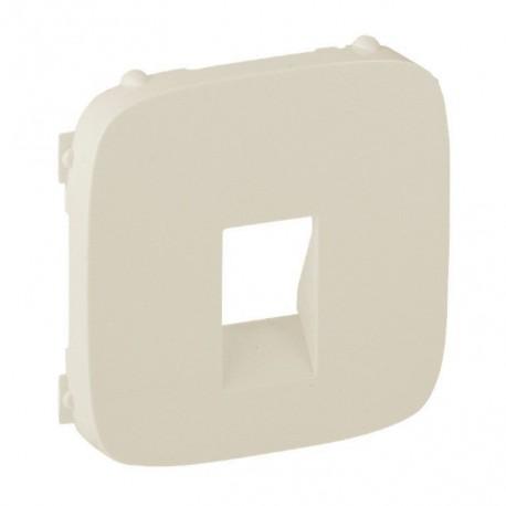 Лицевая панель розетки акустической одинарной, цвет слоновая кость, Valena Allure, Legrand 755366