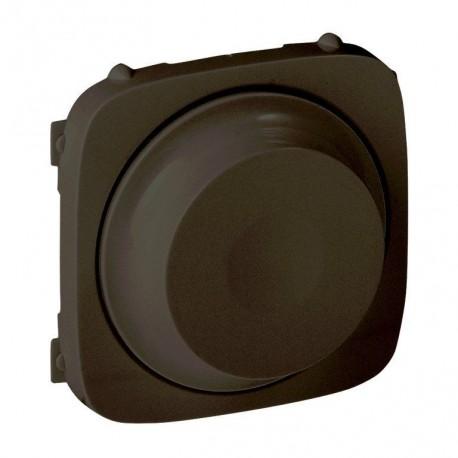 Лицьова панель світлорегулятора поворотного, колір чорний