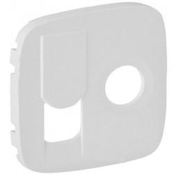 Лицевая панель ТV+RJ45, цвет белый, Valena Allure, Legrand 754835