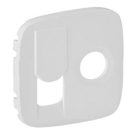 Лицьова панель ТV + RJ45, колір білий, Valena Allure, Legrand