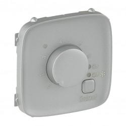 Лицевая панель термостата для тёплых полов, цвет алюминий, Valena Allure, Legrand 755327