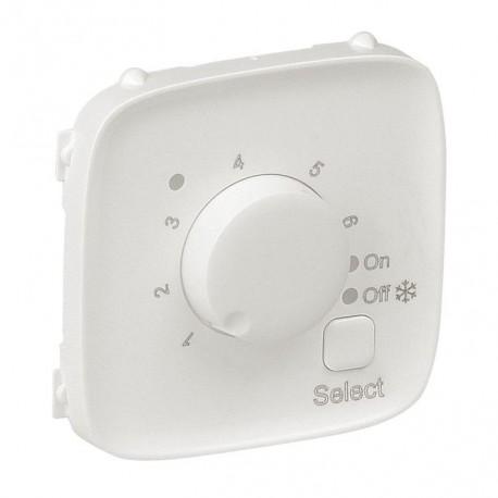 Лицевая панель термостата для тёплых полов, цвет перламутр, Valena Allure, Legrand 755329