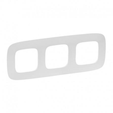 Рамка 3-а колір білий, Valena Allure