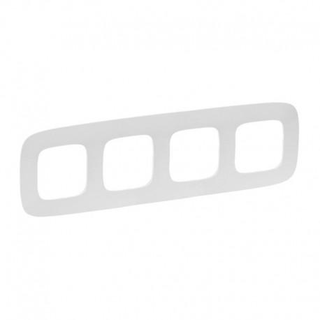 Рамка 4-я цвет белый, Valena Allure 754304