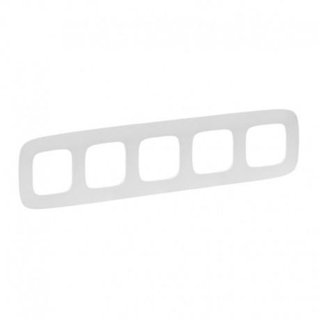 Рамка 5-я цвет белый, Valena Allure 754305