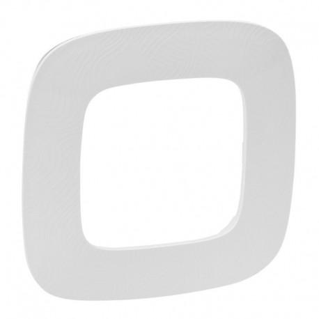Рамка 1-я цвет тиснение белое, Valena Allure 754371