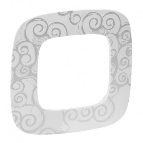 Рамка 1-я цвет нарцисс хром, Valena Allure 754341