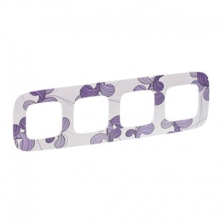 Рамка 4-я цвет флора, Valena Allure 754364