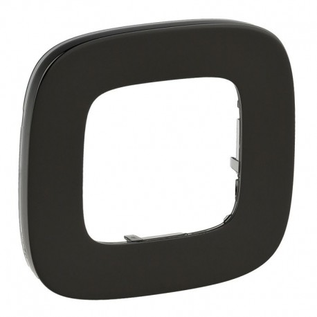 Рамка 1-я цвет черная сталь, Valena Allure 755511
