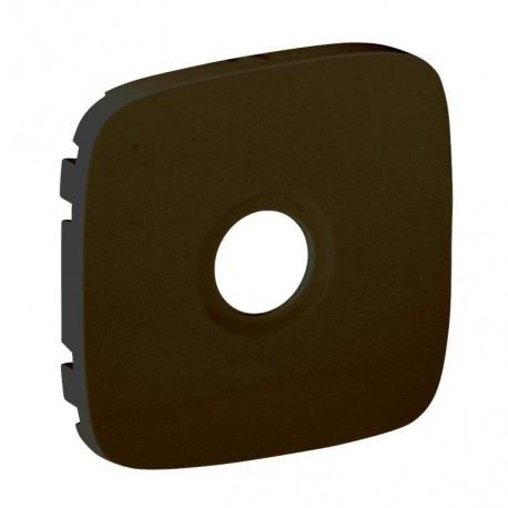 Лицьова панель розетки TV, колір чорний, Valena Allure, Legrand