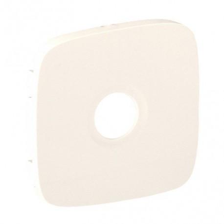 Лицьова панель розетки TV, колір слонова кістка, Valena Allure