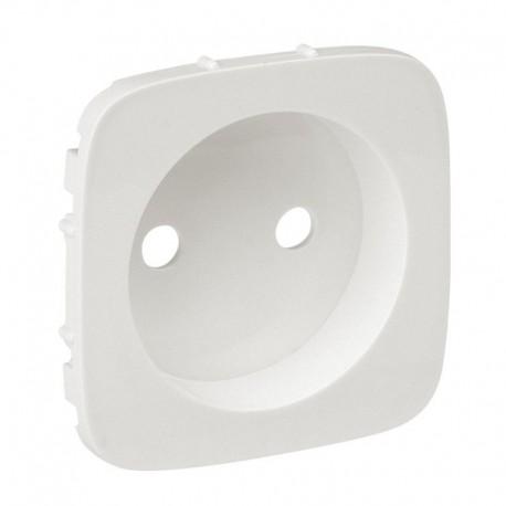Лицевая панель розетки без заземления, цвет перламутр, Valena Allure, Legrand 754979