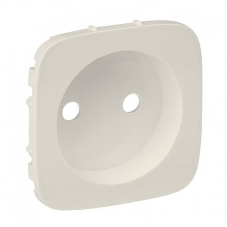 Лицевая панель розетки без заземления, цвет слоновая кость, Valena Allure, Legrand 754976
