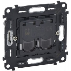 Механизм розетки компьютерной RJ45 кат. 5, UTP, 2-й, Valena Life/Allure, Legrand 753041