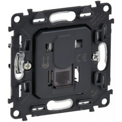 Механизм розетки компьютерной RJ45 кат. 5, UTP, 1-й, Valena Life/Allure, Legrand 753070