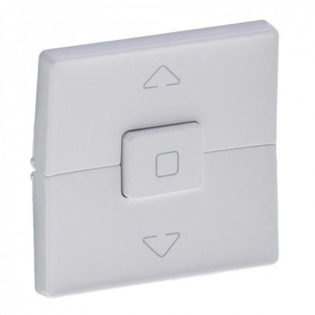 Лицевая панель механизма управления жалюзи, цвет белый, Valena Life 755140