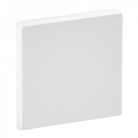 Лицьова панель перемикача проміжного 1-клавішного, колір білий