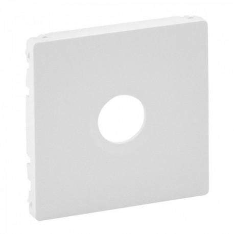Лицевая панель розетки TV, цвет белый, Valena Life 754760